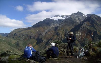 mountain climbing in mt rwenzori